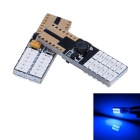 T10 4.5W  24-3014 SMD LED Blue Light Car Width Lamp /License Plate/Car Turn Signal Light (12-18V)