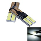 T10 4.5W 24-3014 SMD LED White Light Car Width Lamp /License Plate/ Car Turn Signal Light (12-18V)