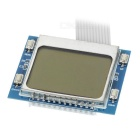 PTi9 PC Mainboard LCD Analyzer Diagnostic Post Card - Blue + White