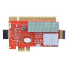 5-in-1 Universal PCI / PCI-E / LPC / Mini PCI-E Diagnostic Card Set for PC / Laptop