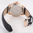 MEGIR Women's Waterproof Leather Band Quartz Watch - Multicolored