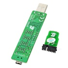 USB 4-Digit Motherboard Test Card Diagnostic Card for PC / Laptop - Green