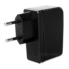 PIPO Universal EU Plug 5V 2A USB Power Adapter Charger - Black (100~240V)