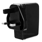 PIPO Universal UK Plug 5V 2A USB Power Adapter Charger - Black (100~240V)