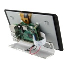 "Suporte de base de acrílico para oficial raspberry pi 7"" touchscreen display"