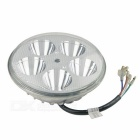 15W 1500lm 8~80V Motorcycle LED Headlamp Rogue Lamp - Silver