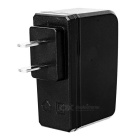 PIPO Universal US Plug 5V 2A USB Power Adapter Charger - Black (100~240V)