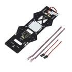 BEC LED Power Distribution PDB Board für QAV280 Aircraft - Schwarz