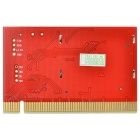 "1.6"" LCD PCI Computer Motherboard Failure Fault Analyzer Tester - Red"