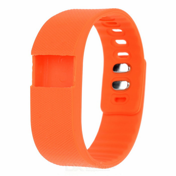 Replacement Soft Silicone Wrist Band for TW64 - OrangeWearable Device Accessories<br>Form  ColorOrangeQuantity1 DX.PCM.Model.AttributeModel.UnitMaterialSiliconeOther FeaturesMade of high quality soft and comfortable silicone. Free size wristband accessory ,Replacement for lost or damaged bands; <br>Personalize your wristband to match your daily style with this brand new color choices;Packing List1 x Replacement band<br>