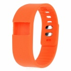 Replacement Soft Silicone Wrist Band for TW64 - Orange