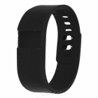 Replacement Soft Silicone Wrist Band for TW64 - Black