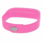 Replacement Silicone Sports Bracelet Band - Dark Pink