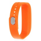 Replacement Silicone Sports Bracelet Band - Orange
