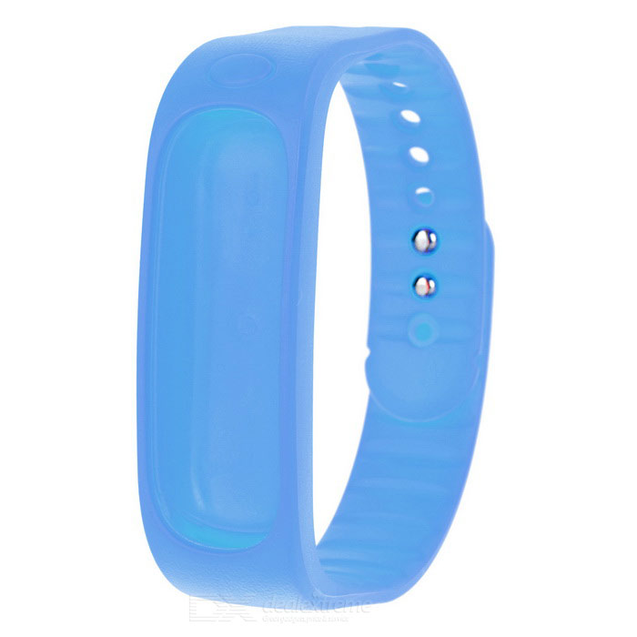 Replacement Silicone Sports Bracelet Band - BlueWearable Device Accessories<br>Form  ColorBlueQuantity1 DX.PCM.Model.AttributeModel.UnitMaterialSiliconePacking List1 x Bracelet band<br>