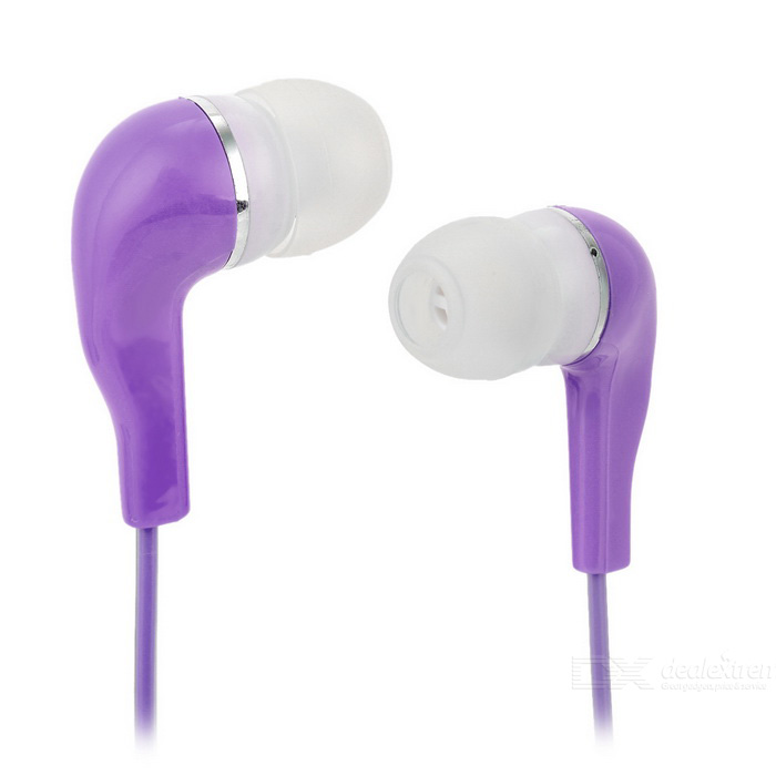 Crystal Cable In-Ear Earphone w/ 3.5mm Jack - Purple (113cm)Headphones<br>Form  ColorPurpleMaterialSilicone + PCQuantity1 DX.PCM.Model.AttributeModel.UnitShade Of ColorPurpleHeadphone StyleIn-EarConnection3.5mm WiredCable Length113 DX.PCM.Model.AttributeModel.UnitSNR75~90dBSensitivity112+/-3dBTHDRemoteNoWith MicrophoneNoDriver Unit2Frequency Response20Hz~20KHzImpedance4 DX.PCM.Model.AttributeModel.UnitChannels2.0Connector3.5mmLeft &amp; Right Cables TypeEqual LengthVolume ControlNoPacking List1 x Earphone<br>