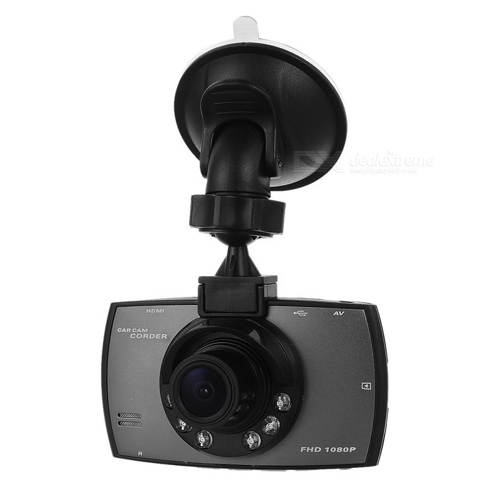 2.7 CMOS 170 1.3MP Car DVR Camera w/ IR Night Vision - Black + GreyCar DVRs<br>Form  ColorBlack + GreyModelN/AQuantity1 DX.PCM.Model.AttributeModel.UnitMaterialPlasticChipsetOthers,N/AScreen Size2-2.9Other FeaturesIR Night Vision,Loop Record,HDMIScreen Resolution:960 x 240 DX.PCM.Model.AttributeModel.UnitCamera Pixel3-4.9MP DX.PCM.Model.AttributeModel.UnitWide Angle170°-189° DX.PCM.Model.AttributeModel.UnitCamera Lens1Image SensorCMOSImage Sensor Size1/2.5 inchesCamera Pixel1.3MPExternal Camera PixelNoWide AngleOthers,170Optical ZoomNoScreen TypeTFTScreen Size2.7 inchesISOOthers,100, 200, 400, autoExposure CompensationOthers,EV-2.0, EV-5/3, EV-4/3, EV-1.0, EV-2/3, EV-1/3, EV+0.0, EV+1/3, EV+2/3, EV+1.0, EV+4/3, EV+5/3, EV+2.0White Balance ModeAutoVideo FormatMOVDecode FormatH.264Video OutputPAL,NTSCVideo Resolution1280 x 960,1080FHD(1920 x 1080)Video Frame Rate30ImagesJPGStill Image Resolution12M 4032x3024Audio SystemMonophonyMicrophoneYesAuto-Power OnYesLED Qty6G-sensorYesTime StampYesBuilt-in Memory / RAMNoMax. Capacity32GBStorage ExpansionTF,Others,Micro TFAV InterfaceMini HDMIData interfaceMini USBWorking Voltage   3.7 DX.PCM.Model.AttributeModel.UnitBattery Capacity200 DX.PCM.Model.AttributeModel.UnitWorking Time0.5 DX.PCM.Model.AttributeModel.UnitMenu LanguageEnglish,French,German,Italian,GreekOther FeaturesDC input: 5V 1.5A; Battery: built-in lithium polymer battery; OS supported: Windows 2000/XP/Vista/Windows 7, MAC OS.Packing List1 x Car DVR1 x Car charger (12~24V / 85cm)1 x USB cable (35cm)1 x Holder<br>