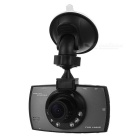 "2.7"" TFT CMOS 170' Wide-Angle 1.3MP Car DVR Video Recorder Camera w/ IR Night Vision - Black + Grey"
