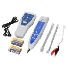Network / Telephone Cable Wire Tracker Tester Kit - White