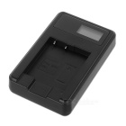 "Camera Battery Charger w/ 0.9"" Screen for SONY NP-BN1, CASIO NP-120"