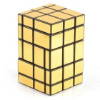 Irregular Magic IQ Cube - Fluorescent Golden + Black