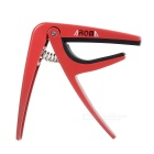 AROMA AC-01 Metal Guitar Capo for Electronic Guitars & Folk Guitars.- Red