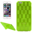 Buy Hat-Prince Weave Pattern Protective TPU Soft Case Stand IPHONE 6 / 6S - Green