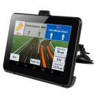 "7"" Android 4.4 Car GPS Navigator Tablet PC Wi-Fi 8GB RU Map - Black"