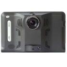 "Q800 7"" HD 1080P Android 4.4 GPS Navigator & Car DVR Camera w/ Radar Detector / FM 16GB Brazil + ARG"