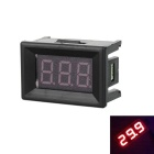 "Car / Motorcycle 1.1"" DC 5~30V Red Light 2-Wire 3-Digit Digital Voltmeter Voltage Display Module"