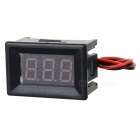 "DIY 1.6"" DC 5~30V Red Light 2-Wire 3-Digit Digital Voltmeter Voltage Display Module - Black"