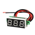 "Car / Motorcycle 1"" DC 5~30V Red Light 2-Wire 3-Digit Digital Voltmeter Voltage Display Module"