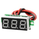 "Car / Motorcycle 1"" DC 5~30V Blue Light 2-Wire 3-Digit Digital Voltmeter Voltage Display Module"