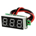 "Car / Motorcycle 1"" DC 5~30V Green Light 2-Wire 3-Digit Digital Voltmeter Voltage Display Module"