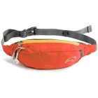 Wind Tour Multifunctional Outdoor Sports Water Resistant Waist Bag w/ Adjustable Strap - Orange