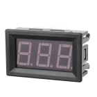 "DIY 1.6"" Green Light 2-Wire 3-Digit Voltmeter Voltage Display - Black"