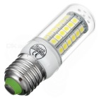 E27 6W LED Corn Lamp Cold White 6837K 290lm 48-SMD 5050(AC 220~240V)