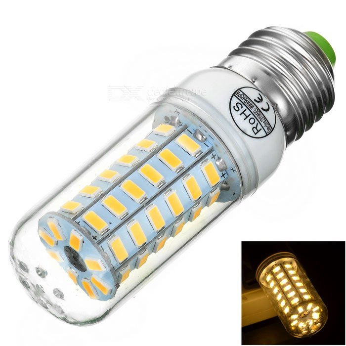 E27 5W LED Corn Lamp Warm White 3000K 362lm 56-SMD 5730 (AC 220~240V)