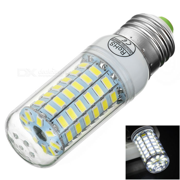 E27 6W LED Corn Lamp Cold White 6000K 470lm 69-SMD 5730 (AC 220~240V)