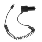 USB 3.1 Type-C to Dual USB Car Charger Cable for Nokia N1 Tablet PC / MACBOOK / Google Pixel - Black