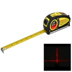 LV-05 Handheld Laser Level Measuring Tool with 5.5m / 18ft Tape Measure - Yellow + Multicolor
