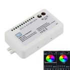 DC 12~24V 360W 30A LED RGBW Lamps / Strip Light Wireless Smartphone Bluetooth Controller - White