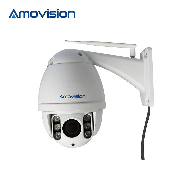 Amovision 2.0MP 1080p 4X Zoom Sicherheit IP Kamera - Weiß (US Stecker)