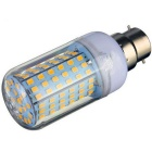 B22 18W LED Corn Bulb Lamp Warm White Light 3000K 1650lm 126-SMD 2835 ( AC 220~240V )