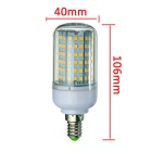 E14 18W LED Corn Bulb Lamp Warm White Light 3000K 1650lm 126-SMD 2835