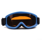 OBAOLAY TPU Frame PC Lens UV400 Protection Anti-Fog Sport Skiing Goggles for Children - Blue
