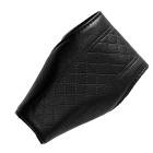 Auto Car Luxury PU Leather Gear Shift Knob Shifter Cover Sleeve Pad Case - Black