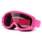 OBAOLAY TPU Frame PC Lens UV400 Protection Anti-Fog Sport Skiing Goggles for Children - Pink