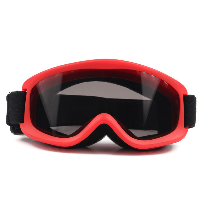 OBAOLAY TPU Frame PC Lens UV400 Skiing Goggles for Children - Red