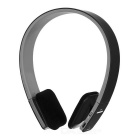 BQ-618 Multifunctional Bluetooth V4.0 Headband Stereo Headset w/ Mic - Black + Grey